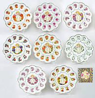 Тарелка для пасхи и пасхальных яиц круглая 25см 209-Е51