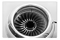 Светящиеся картина Startonight Авиа ДвигательЧерно Белые Самолет Печать Холст Декор стен Дизайн дома Интерьер