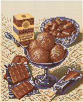 Схема для вышивки бисером POINT ART Шоколадная ностальгия, размер 18х22 см