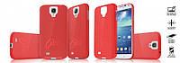 Чехол-накладка Samsung i9192 Galaxy S4 mini красный, фото 1