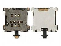 Разъем SIM-карты для HTC 801e One M7. на шлейфе