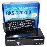 Приставка Т2 (тюнер)  Roks RKS-T202HD