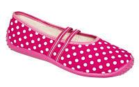Балетки текстильные розовые EDYTA 56036 ZETPOL, р.36