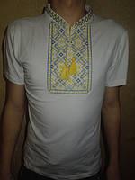 """Вышиванка  футболка  мужская """" 3-D """" 22 (С.П.О.)"""