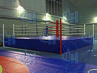 Ринг на помосте боксерский