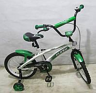 Велосипед двухколесный FLASH 16 T-21641 green ***