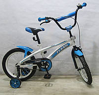 Велосипед двухколесный FLASH 16 T-21642 blue ***