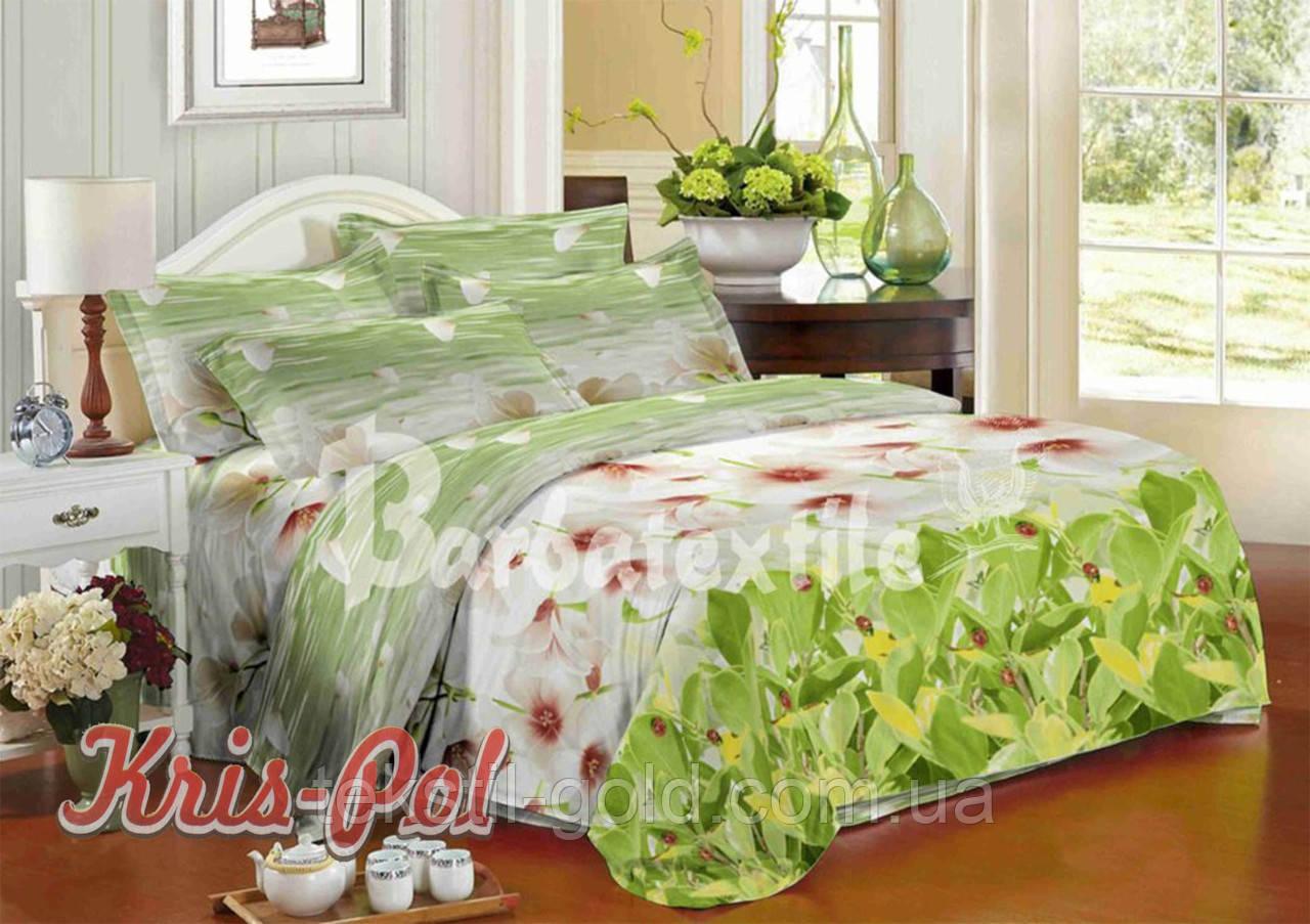 Комплект постельного белья полиэстер 3D ТМ KRIS-POL (Украина) полуторный 49851592