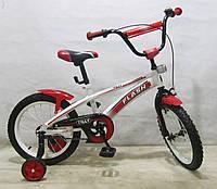 Велосипед двухколесный FLASH 16 T-21643 red***