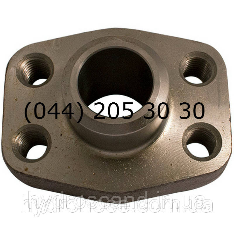 Сварной фланец, наружный, плоский, SAE6000, 5544-08