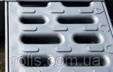 Решетка Асо drain deckline P100 из композитного материала серебристая, В125