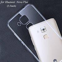 Ультратонкий 0,3 мм чехол для Huawei Nova Plus прозрачный