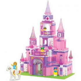 Конструктор розовая мечта 472 деталей М38 В0152
