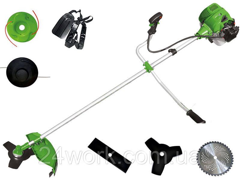 Бензокоса Green Garden GGT-3700 (3 ножа, 2 катушки)