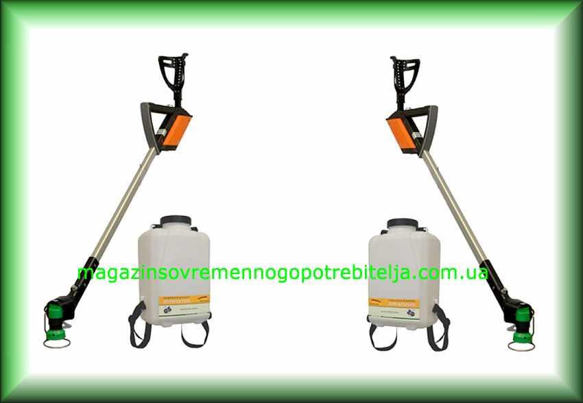 Садовый опрыскиватель гербицидный MANKAR-CARRY HQ 80 (с подлокотником и 10 л баком)