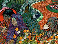 """Схема для вышивки бисером POINT ART Винсент Ван Гог """"Воспоминание о саде в Эттене"""", размер 47х36 см"""