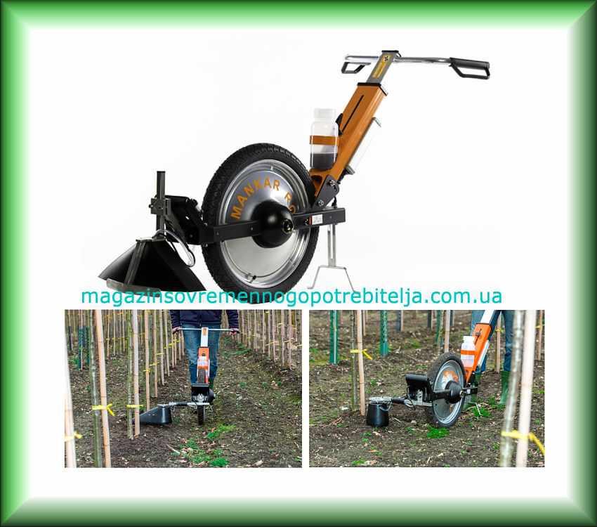Садовый опрыскиватель гербицидный MANKAR- ROLL ONE 45