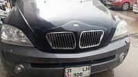 Kia Sorento 2002-2010 Накладка на решетку Q018 BMW-type