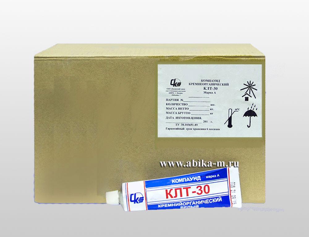 Компаунд кремнийорганический КЛТ-30 (ТУ 38.103691-89)