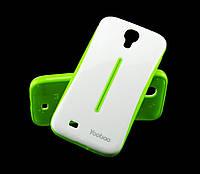 Чехол для Samsung i9500 Galaxy S4 Yoobao зеленый