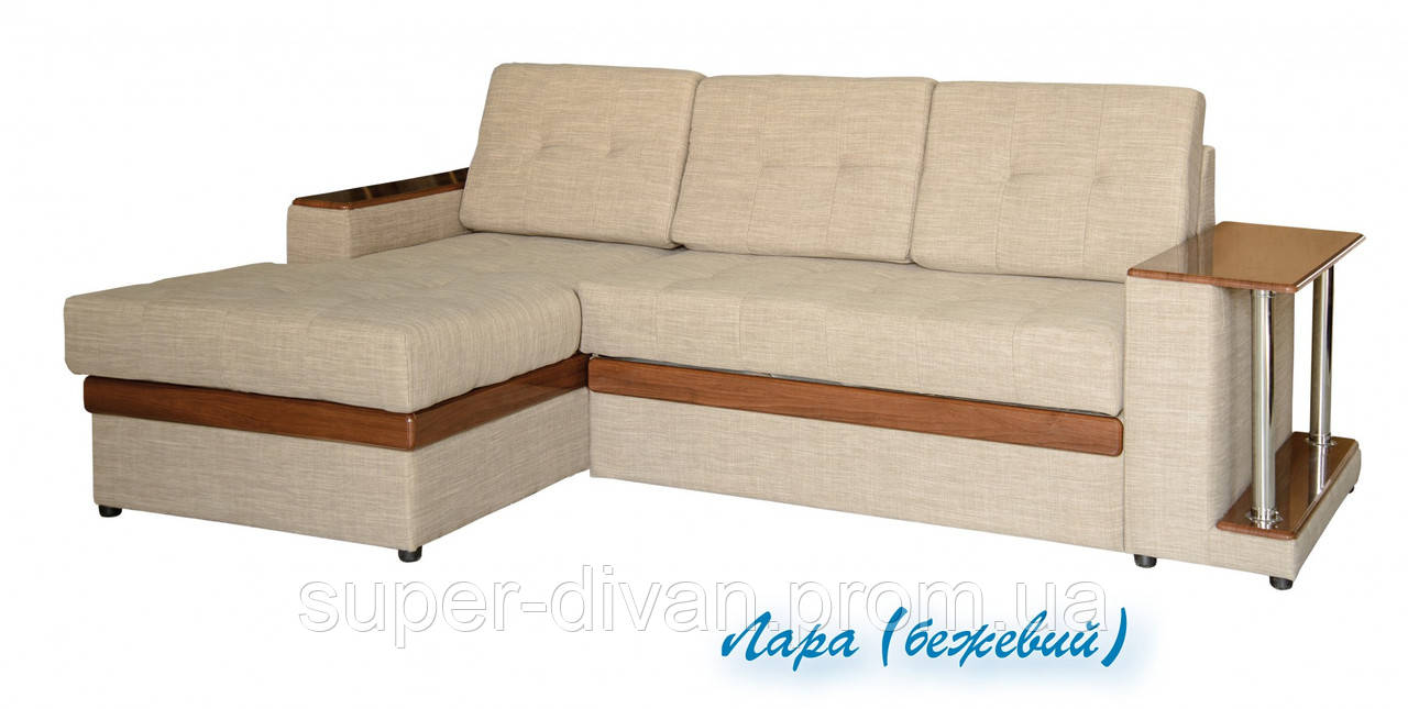Угловой диван Орфей  (Лара бежевый)