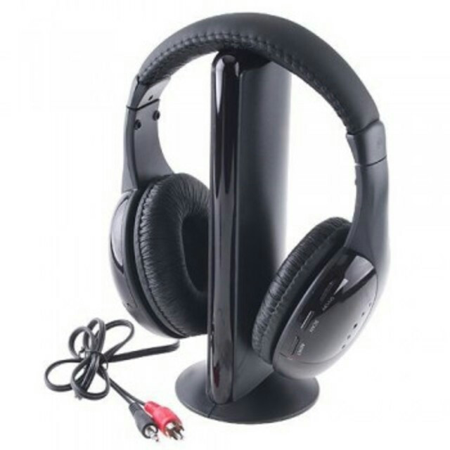 Наушники HQ-Tech MH-2001 (5-in-1), беспроводные радио, FM радио, аудио монитор