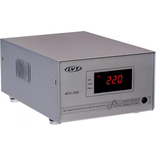 Релейный однофазный стабилизатор напряжения LVT АСН-250