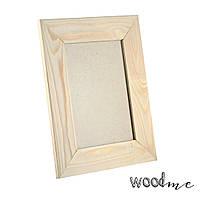 Рамочка деревянная со стеклом 5х15х20 см