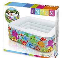 """Детский надувной бассейн Intex 57471 """"Аквариум"""""""