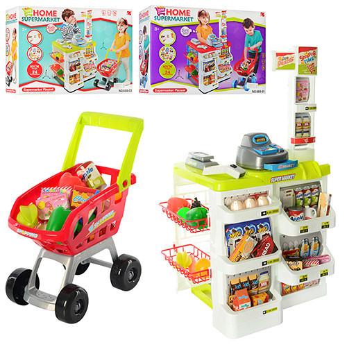 Игровой набор супермаркет 668-03