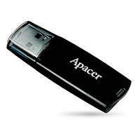 Флешка USB Flash Drive 16 Gb Apacer AH322 Black USB 2.0 (AP16GAH322B-1)
