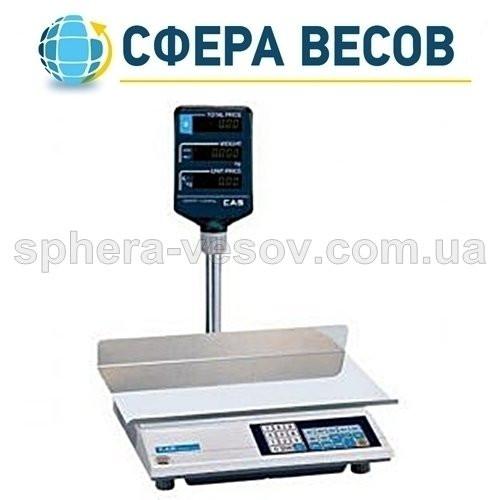 Весы торговые CAS-AP-M LT (15 кг)