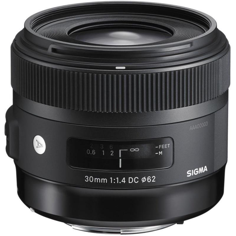 Объектив Sigma 30mm f/1.4 EX DC HSM  Art Nikon ( на складе )