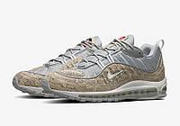 Мужские кроссовки Nike x supreme  air max 98 Snakeskin beige