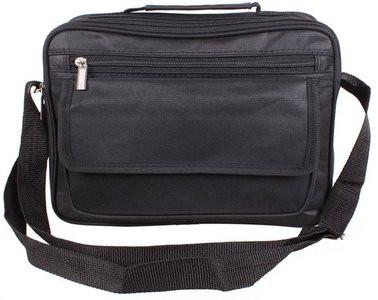 Мужская сумка через плечо нейлон 301819 черная