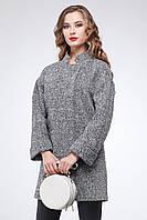 Стильное демисезонное шерстяное пальто Марьям