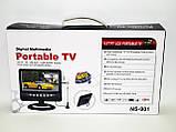 Портативный телевизор TV USB SD 9.5'', фото 5