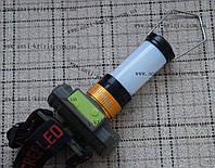 Фонарь на лоб аккумуляторный Police 8809B-XPE(302)+съемный рассеиватель, zoom, micro USB