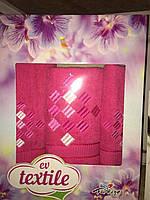 Махровые полотенца в подарочной упаковке 10182