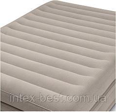 Intex 64446 надувная кровать Pillow Rest Mid-Rise Bed 152x203x51см, фото 2