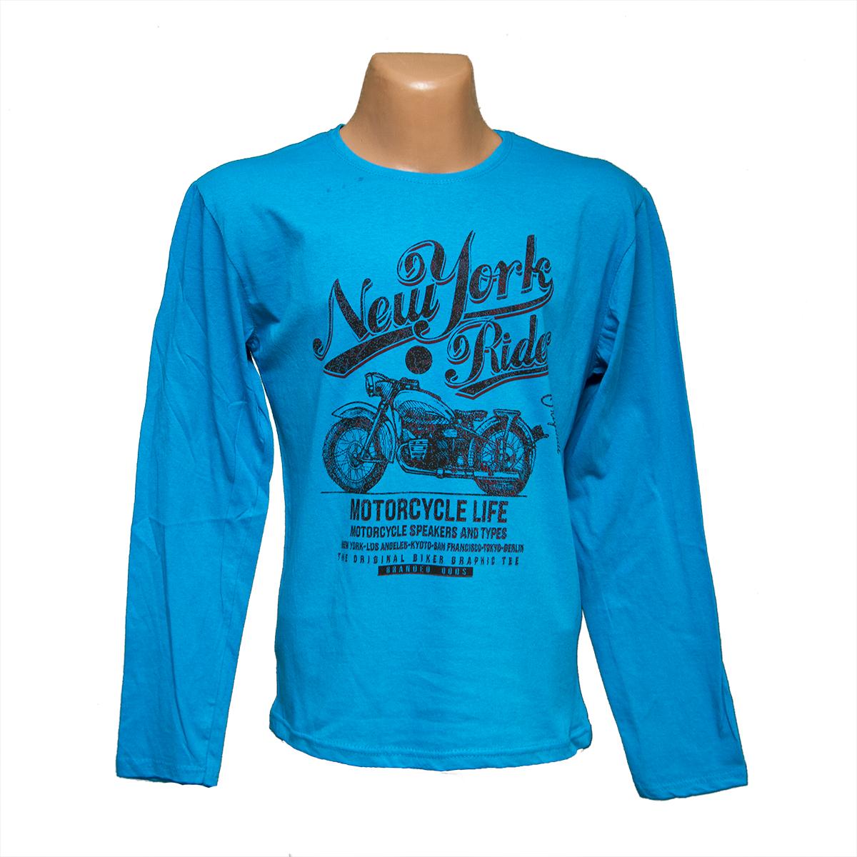 5a81ebc6ea2c Мужские дешевые футболки с длинным рукавом интернет магазин 7903-5 оптом и  в ...
