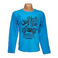 Мужские дешевые футболки с длинным рукавом интернет магазин 7903-5