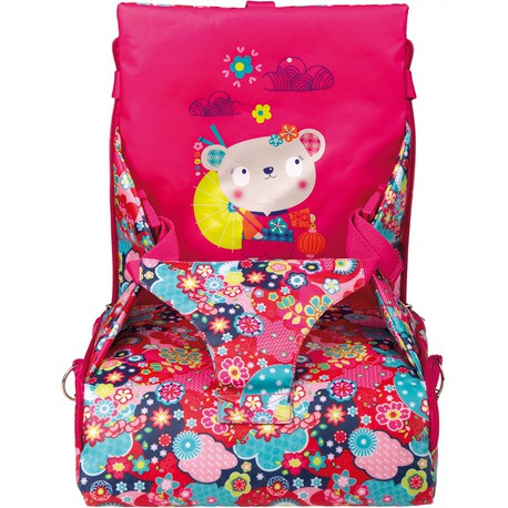 Стульчик детский портативный розовый Tuc Tuc KIMONO