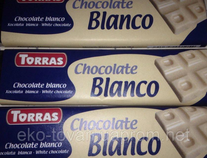 Torras Bianco Шоколад Білий-20 г