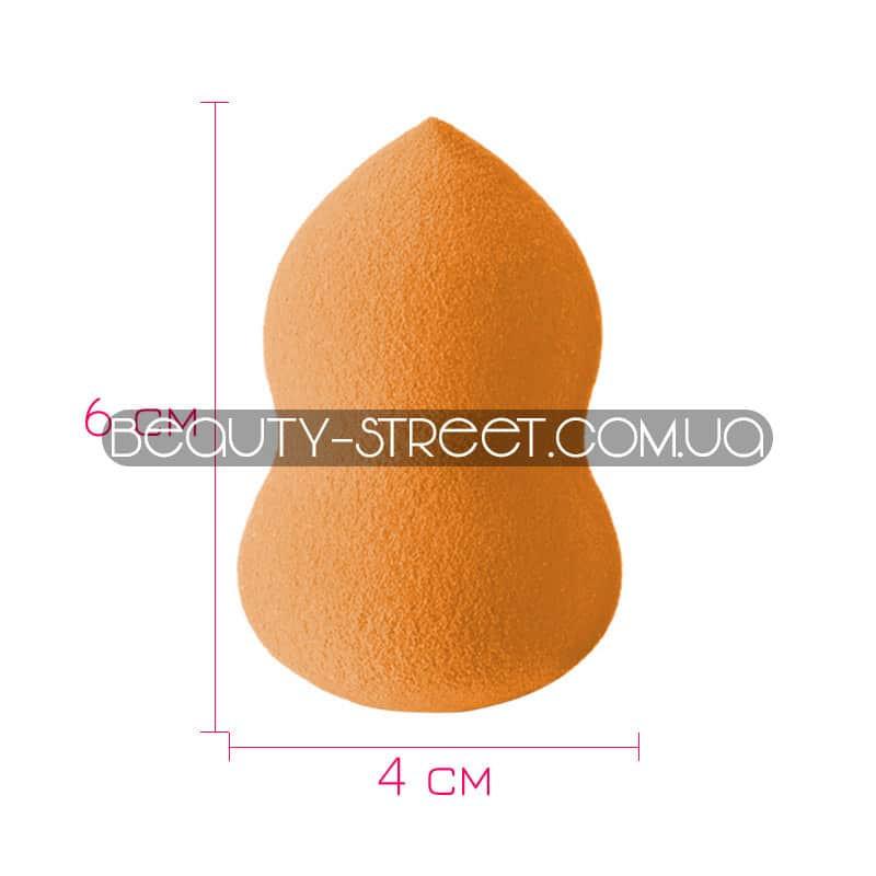 Спонж Beauty Blender фигурный оранжевый