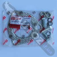 Прокладка каталізатора Lanos 1.5+кріплення (блістер)