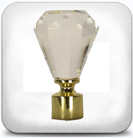 Кристал д.19мм золото