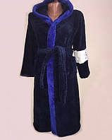 Махровый детский халат для мальчика-подростка 61236