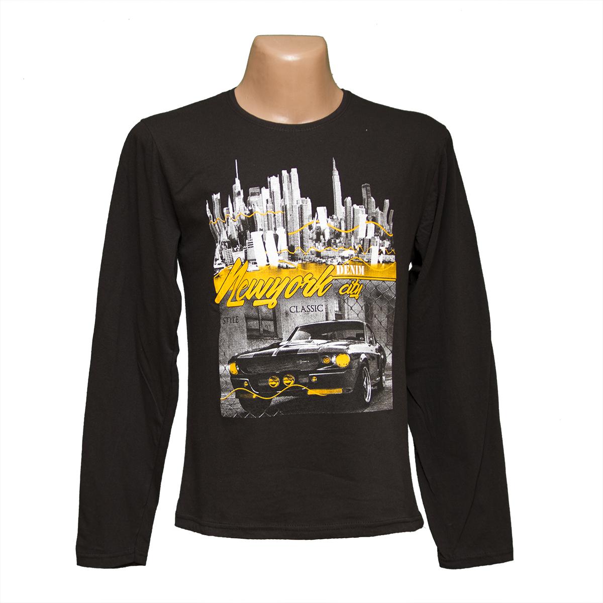 b3659491000c863 Мужские футболки с длинным рукавом баталы на 7 км 7907-5 оптом и в ...