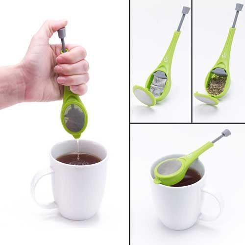 Удобный заварник для чая с возможностью отжима!